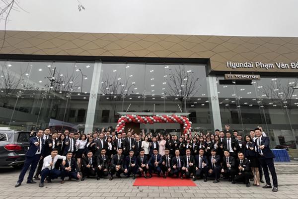 Hyundai Phạm Văn Đồng- showroom 'ruột' của tín đồ xe hơi Hà Nội