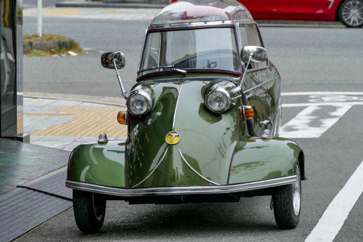 Những chiếc ô tô siêu nhỏ, thiết kế kì lạ nhất thế giới