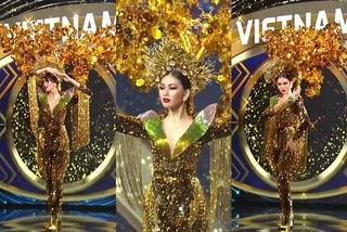 Ngọc Thảo lọt top 10 trang phục dân tộc đẹp nhất 'Miss Grand 2020'