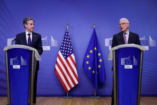 Mỹ-EU ra tuyên bố chung về Nga và Trung Quốc