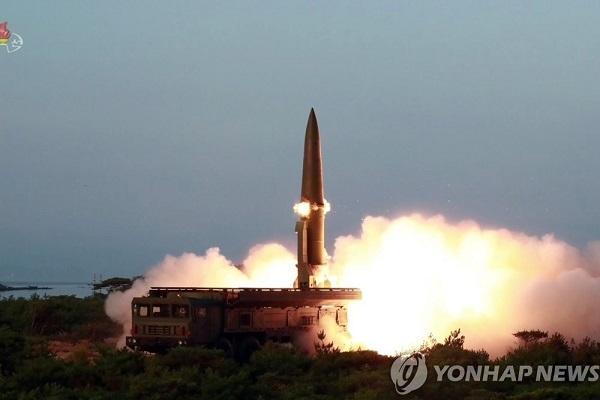 Triều Tiên có thể vừa phóng hai quả tên lửa đạn đạo