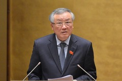 Báo cáo tóm tắt của Chánh án TANDTC Nguyễn Hòa Bình về công tác nhiệm kỳ