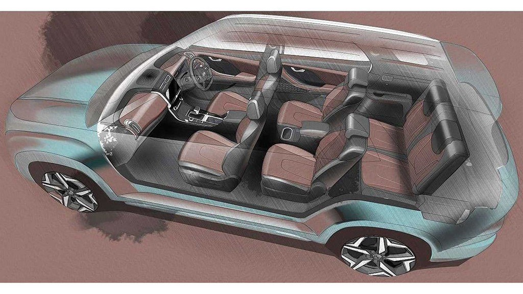 Hé lộ mẫu SUV 7 chỗ mới của Hyundai mang tên Alcazar