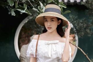 Diễn viên Lương Thanh cuốn hút trong trang phục đen - trắng