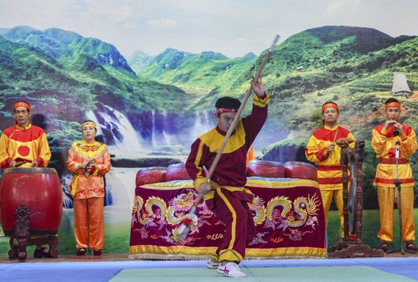 Vietnamese martial arts seek UNESCO title