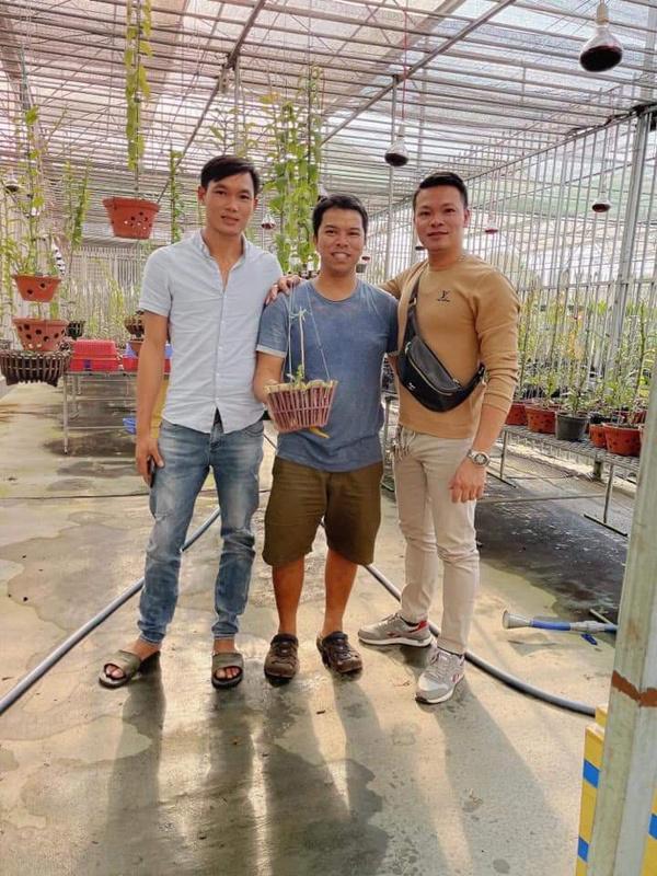 Vườn lan vạn chậu rộng ngàn m2 của ông chủ trẻ ở Lâm Đồng