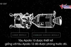 Bình oxy phát nổ, phi hành đoàn Apollo 13 làm gì để thoát nạn?