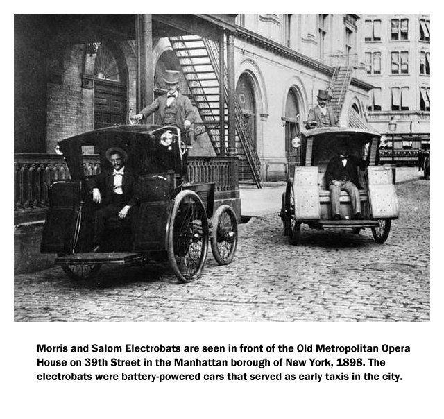 'Cụ tổ' của những chiếc ô tô điện ngày nay