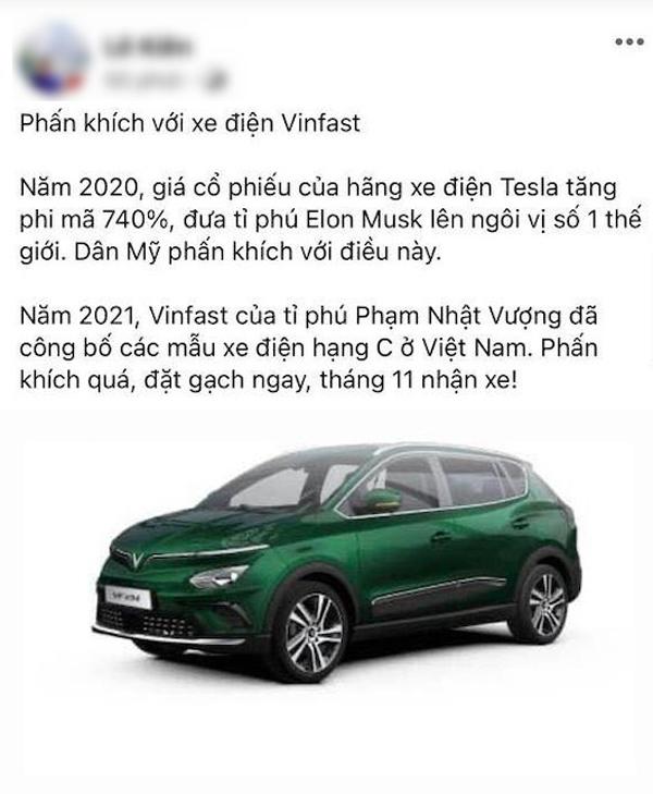 Cộng đồng đua nhau khoe 'chứng nhận đặt cọc' xe điện Việt đầu tiên
