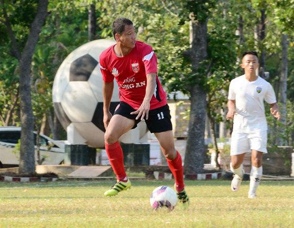 Striker Nguyen Anh Duc,Long An FC,vietnam football