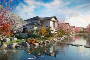 Tắm onsen 365 ngày trong năm ở Sun Onsen Village Limited Edition