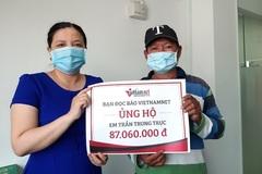 """""""Báo VietNamNet mang cơ hội đổi đời cho cha con tôi"""""""