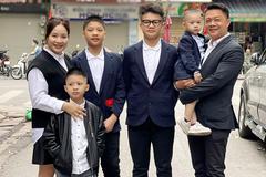BTV Trần Quang Minh: Chăm 4 cậu con trai cũng bình thường thôi