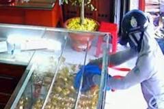 Làm rõ trình báo tiệm vàng bị kẻ trộm 'khoắng' 22 lượng vàng