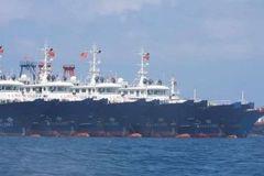 Hơn 200 tàu Trung Quốc neo đậu ở đá Ba Đầu xâm phạm chủ quyền Việt Nam
