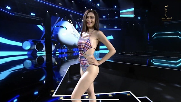 Miss Grand 2020: Ngọc Thảo tự tin, hoa hậu Nhật xoay 5 vòng diễn bikini