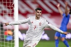 Morata lập công, Tây Ban Nha đánh rơi chiến thắng trước Hy Lạp