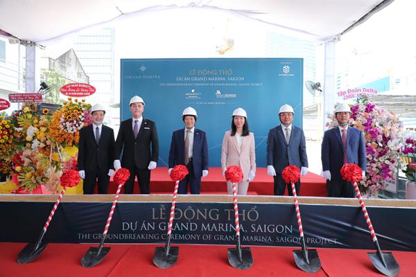 Khởi công dự án căn hộ mang thương hiệu Marriott International lớn nhất thế giới