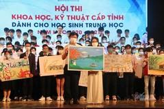 262 học sinh tranh tài tại cuộc thi Khoa học kỹ thuật cấp quốc gia