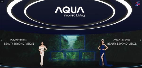 Hoa hậu Đỗ Thị Hà cùng Aqua Việt Nam 'Khơi cảm hứng vươn tầm'