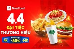 Loạt 'deal khủng' trong Đại tiệc thương hiệu NowFood 4.4