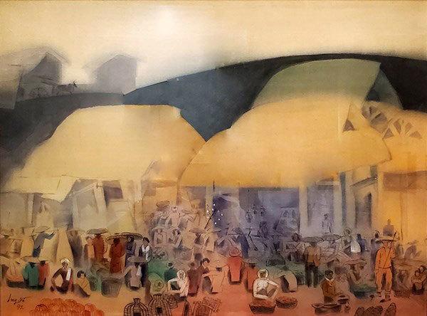 Paintings of Vietnamese artists return home from Japan