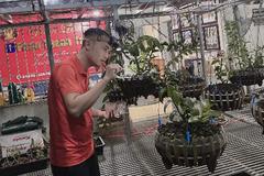 Ông chủ vườn lan Phú Thọ khởi nghiệp thành công ngay giữa mùa dịch