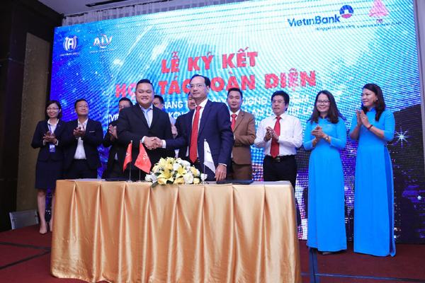 An Lạc Việt Land ký hợp tác toàn diện với VietinBank