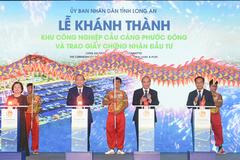 KCN Cầu cảng Phước Đông - 'điểm sáng' đón sóng đầu tư ở Long An