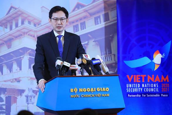 Tháng bận rộn khi Việt Nam làm Chủ tịch Hội đồng Bảo an Liên Hợp Quốc