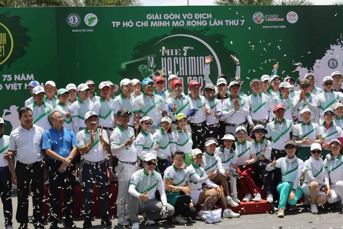 300 VĐV tham dự giải golf TP HCM mở rộng 2021