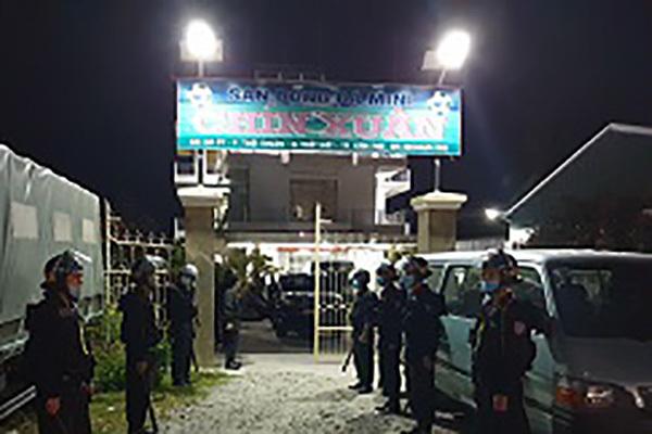 100 công an bắt kẻ cầm đầu phóng hoả đốt nhà đội trưởng cảnh sát hình sự