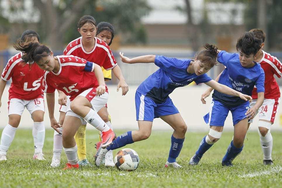 Than KSVN vô địch lượt đi U19 nữ quốc gia