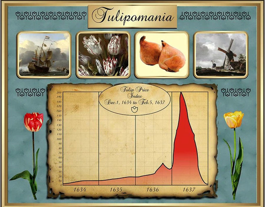 Trước 'cơn sốt' lan đột biến, từng có hiện tượng tương tự cách đây 400 năm