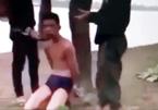 Điều tra clip thanh niên bị đánh đập, bịt mặt chôn sống