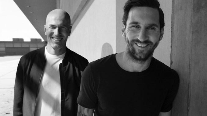 Messi tiết lộ 'quy tắc' đổi áo và ngoại lệ với Zidane