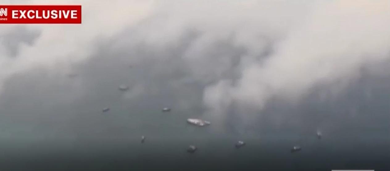CNN công bố video hàng trăm tàu Trung Quốc ở Đá Ba Đầu