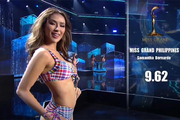 Miss Grand 2020: Ngọc Thảo và dàn hoa hậu nóng bỏng trình diễn bikini