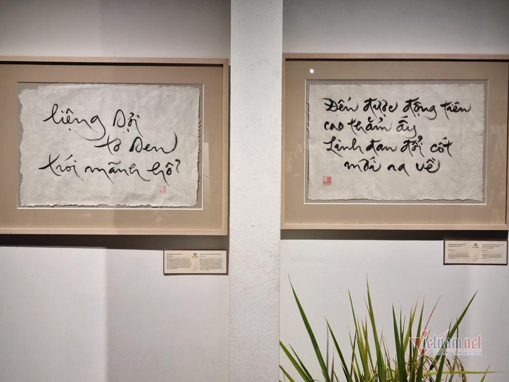 Triển lãm sách và thư pháp của thiền sư Thích Nhất Hạnh