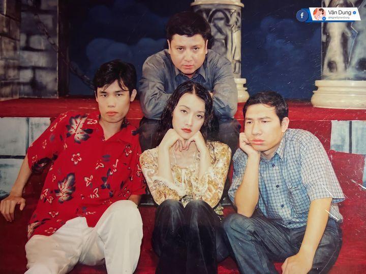 Vân Dung đăng ảnh hiếm bên Chí Trung, Quang Thắng