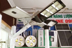 Dùng đèn năng lượng mặt trời giá rẻ chưa chắc tiết kiệm