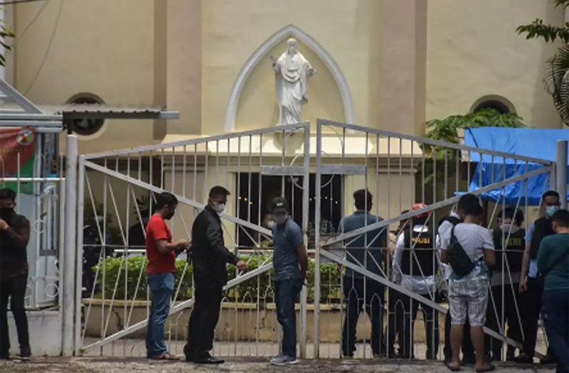 Nổ lớn ở nhà thờ Indonesia, nhiều người bị thương