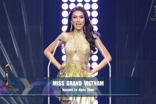 Vietnam contestant finishes in Miss Grand International top 20