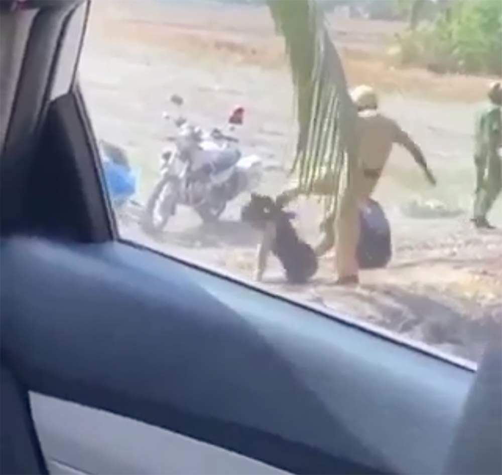 Xác minh clip CSGT đánh nhóm thanh niên ở vùng ven Sài Gòn