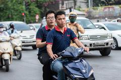 Những lỗi vi phạm thường gặp của người điều khiển xe máy