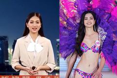 Top 5 Hoa hậu Thế giới Việt Nam bất ngờ dẫn bản tin trên VTV