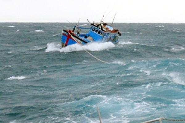 Tàu cá Quảng Bình bị tàu hàng đâm chìm, 3 ngư dân rơi xuống biển