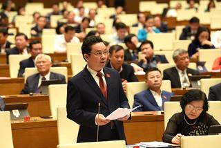 Bài phát biểu của ĐBQH Hoàng Văn Cường trước Quốc hội về chuyển đổi số