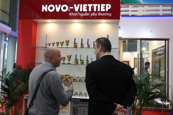 Quy trình ba bước chặt chẽ đưa van, ren đồng NOVO-Việt Tiệp chinh phục thị trường Anh quốc