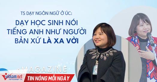 Cô giáo Việt là người châu Á duy nhất dạy sư phạm tiếng Anh ở ĐH Úc